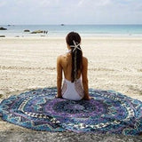 Round Tapestry Throw Blanket
