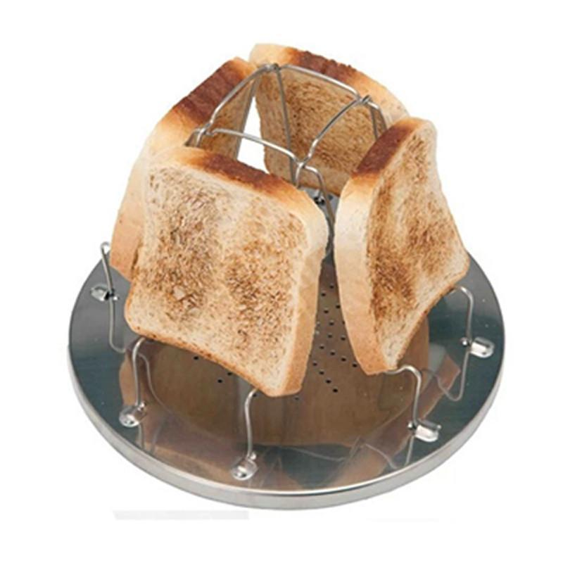 Elp Outdoors Folding Camp Stove Bread Toaster