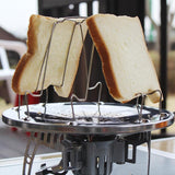 Folding Camp Stove Bread Toaster