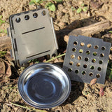 Folding Camp Stove - Outside Components