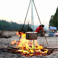 Outdoor Solid Steel Cooking Tripod