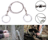 Outdoors Emergency Survival Kit Stainless Steel Wire Saw