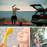 12V Portable Outdoor Camping Shower Multi View Showering