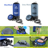 Outdoor Inflatable Shower Water Bag with Foot Pump