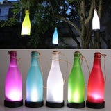 5 pcs Solar Garden Light LED Bottle Hanging Lamp
