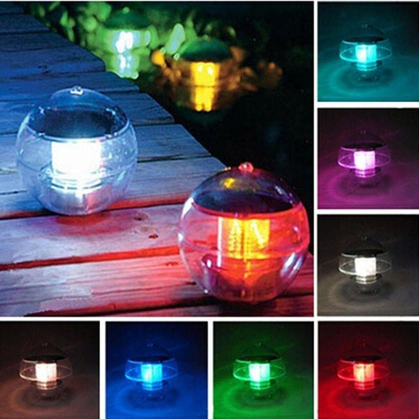 LED Solar Lantern Water Ball Light Floating Garden Light