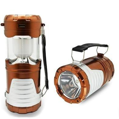 Elp outdoors 6 led solar rechargeable lantern aloadofball Image collections
