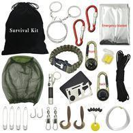 Emergency Outdoor Multi-functional Travel Survival Tools Kit
