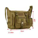 Military Tactical Messenger / Shoulder Laptop Backpack