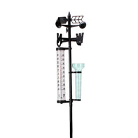 Garden Weather Station  w/ Rain Gauge