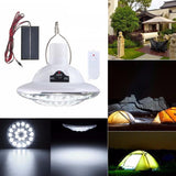 Super Bright Remote Control Solar Camping Lights