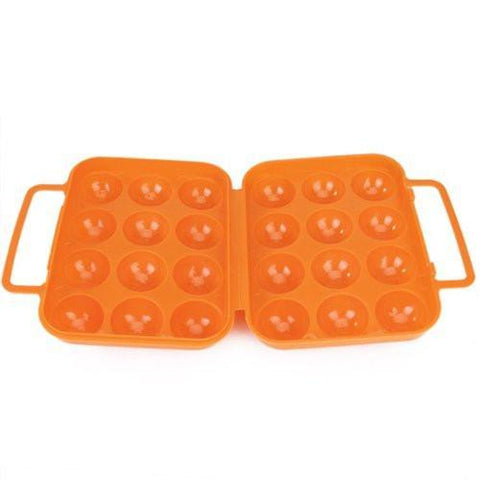 Portable Folding Protected Egg Carrier