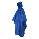 3 in 1 Multifunctional Poncho Blue