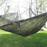 Portable Double Person Hammock With Mosquito Net