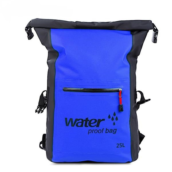 25L Waterproof Bag Roll Top Traveling Backpack