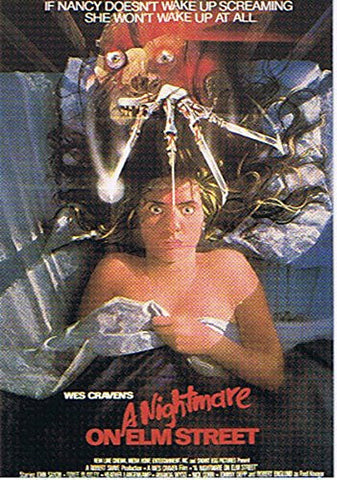 Nightmare on Elm Street Postcard