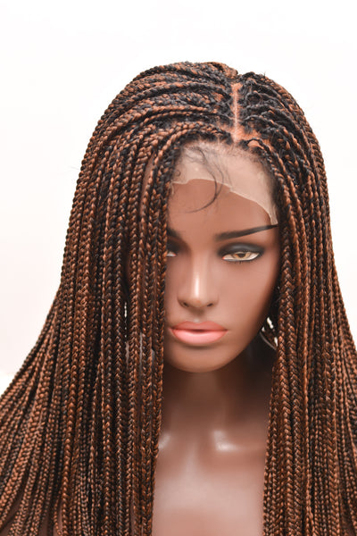 """Adaobi"" Frontal box braids unit"
