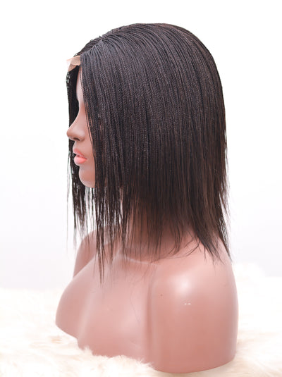 Amaka Closure wig- feathers