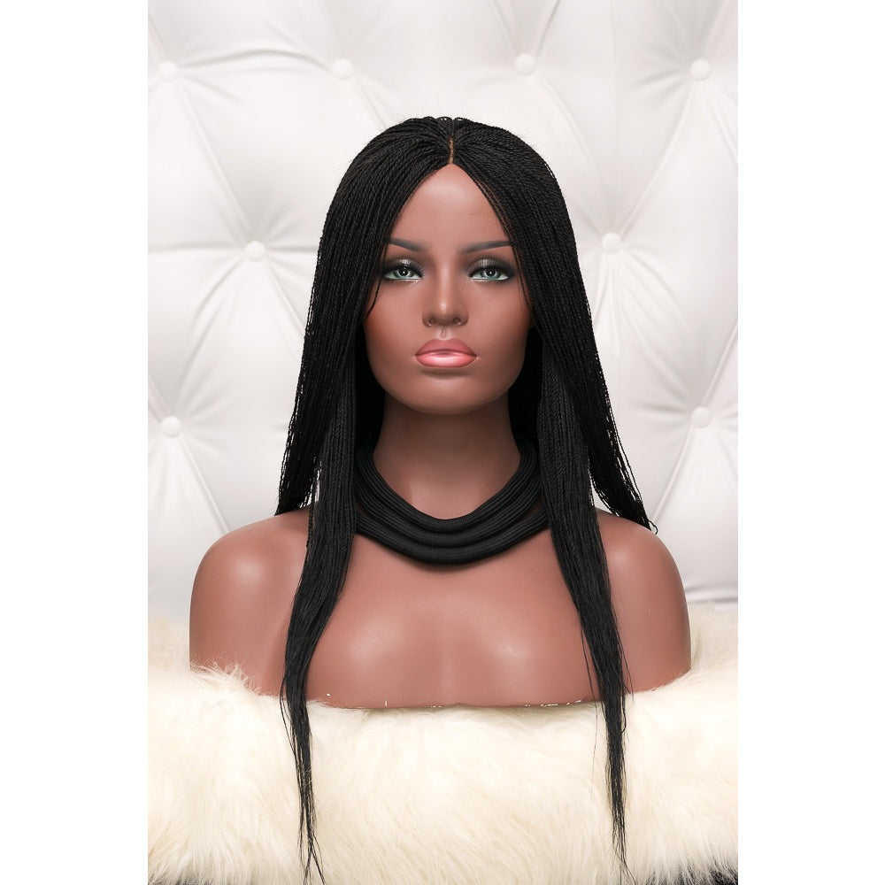 "Amaka Closure ""Microtwists"" Wig - Single Parting"
