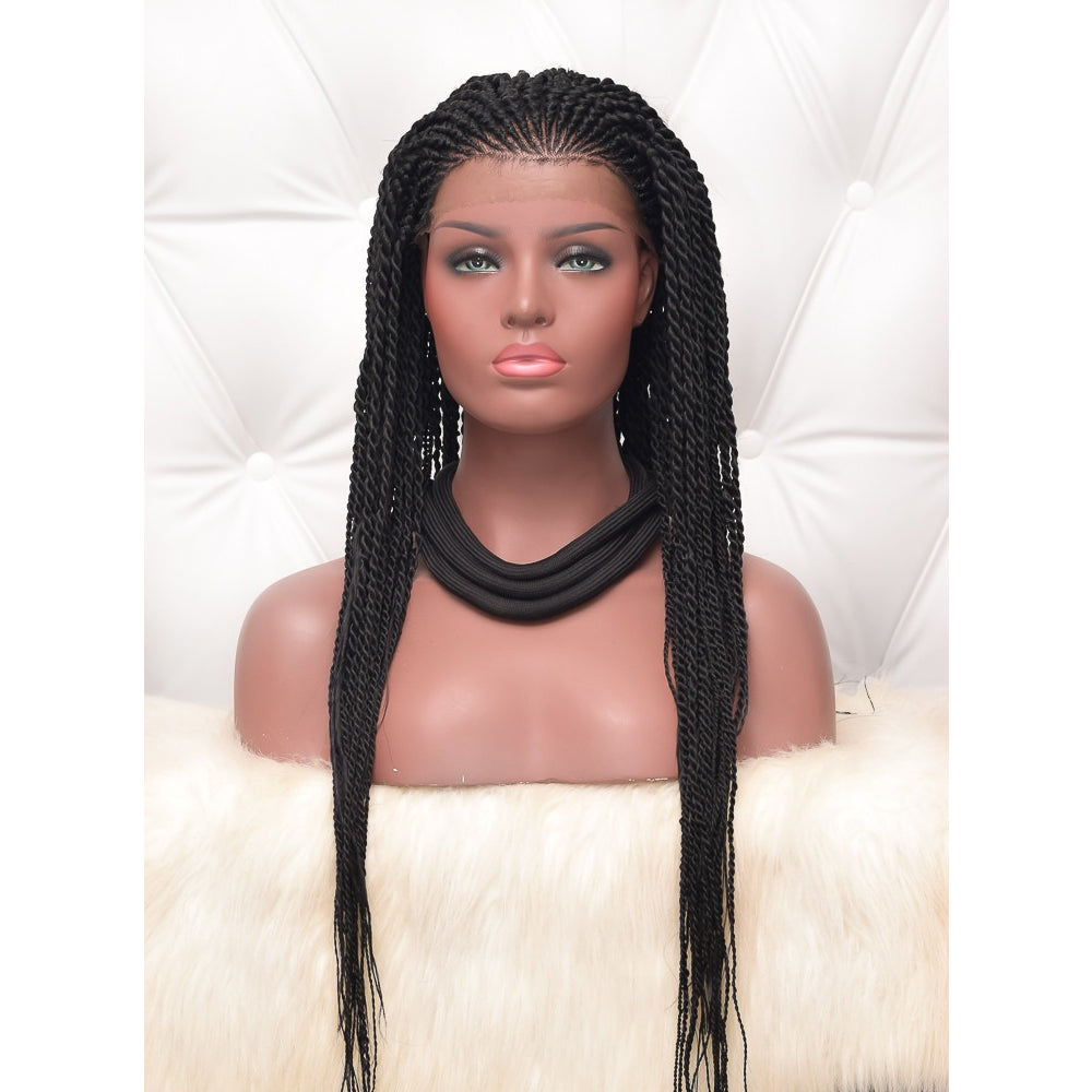 'Abena' Cornrow Wig Unit