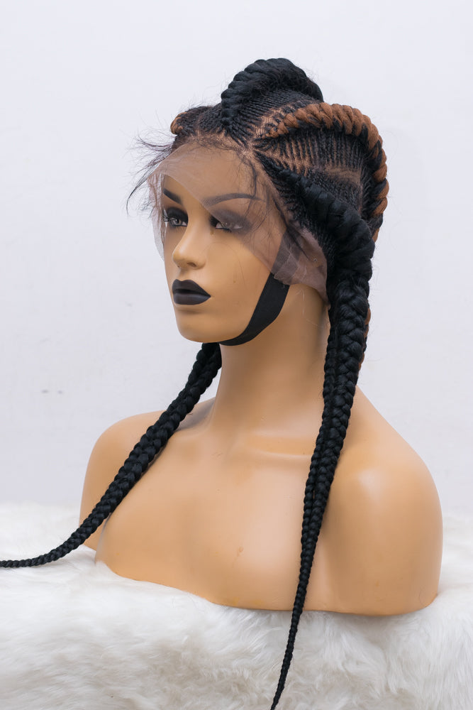 Dera Full Lace Cornrow Unit