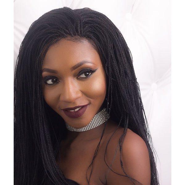 "Amaka 360 Frontal ""Microtwists"" Wig"