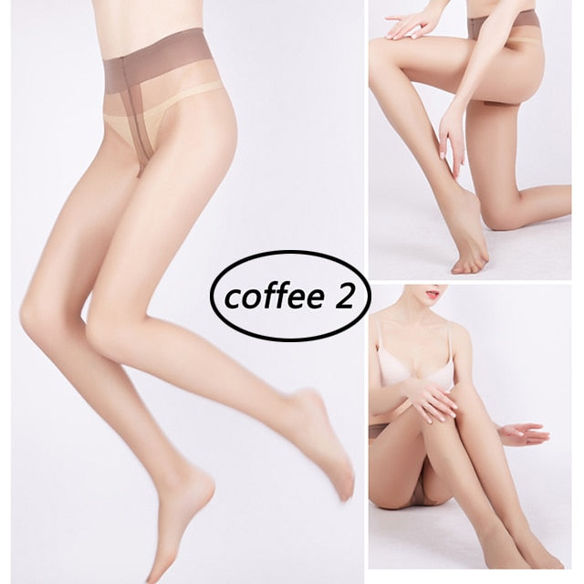 POINTOUCH Sexy Stockings Summer Thin Tights High Elastic Underwear Women Lingerie Nylon Pantyhose Long Thigh Medias Girl Panty