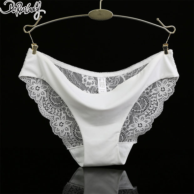 1b71ecfff27 DeRuiLaDy Seamless Low-Rise Women s Sexy Lace Panties Solid 2017 New  Panties 8 Colors Underwear