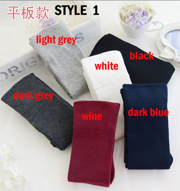 2019 New Fashion Girls solid Stockings Sexy Warm Thigh High Over The Knee Long Cotton stockings For women