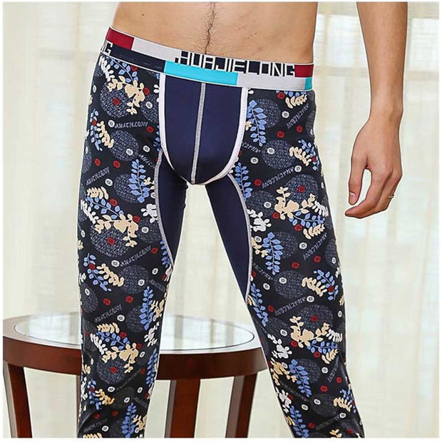 Free Shipping NEW Men's sexy cotton fabric Long johns Thermal Underpants Thermal Underwear Leggings Tights