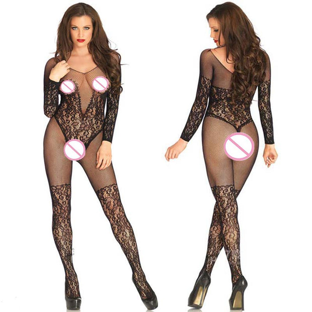 Plus Size Lenceria Sexy Underwear Sexy Lingerie For Women Open Crotch Sexy Bodysuits Sexy Fishnet Bodystockings Sex Products