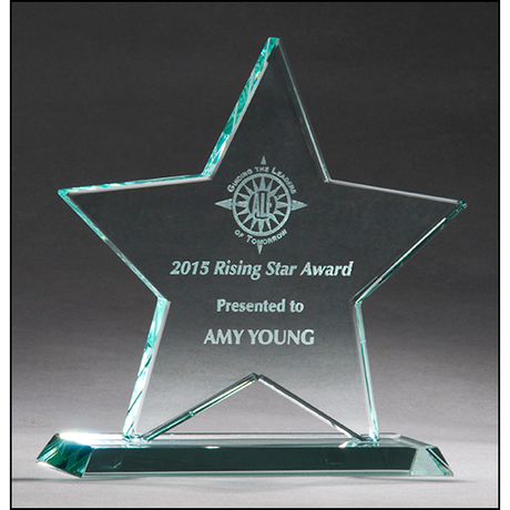 Star Jade Glass Award.