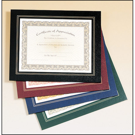 Leatherette Frame Certificate Holder.