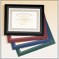 Certificate Photo Plaques