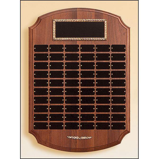 Perpetual plaque with 60 plates.
