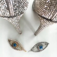 EYE TO THE SKY Crystal Hair Barrette