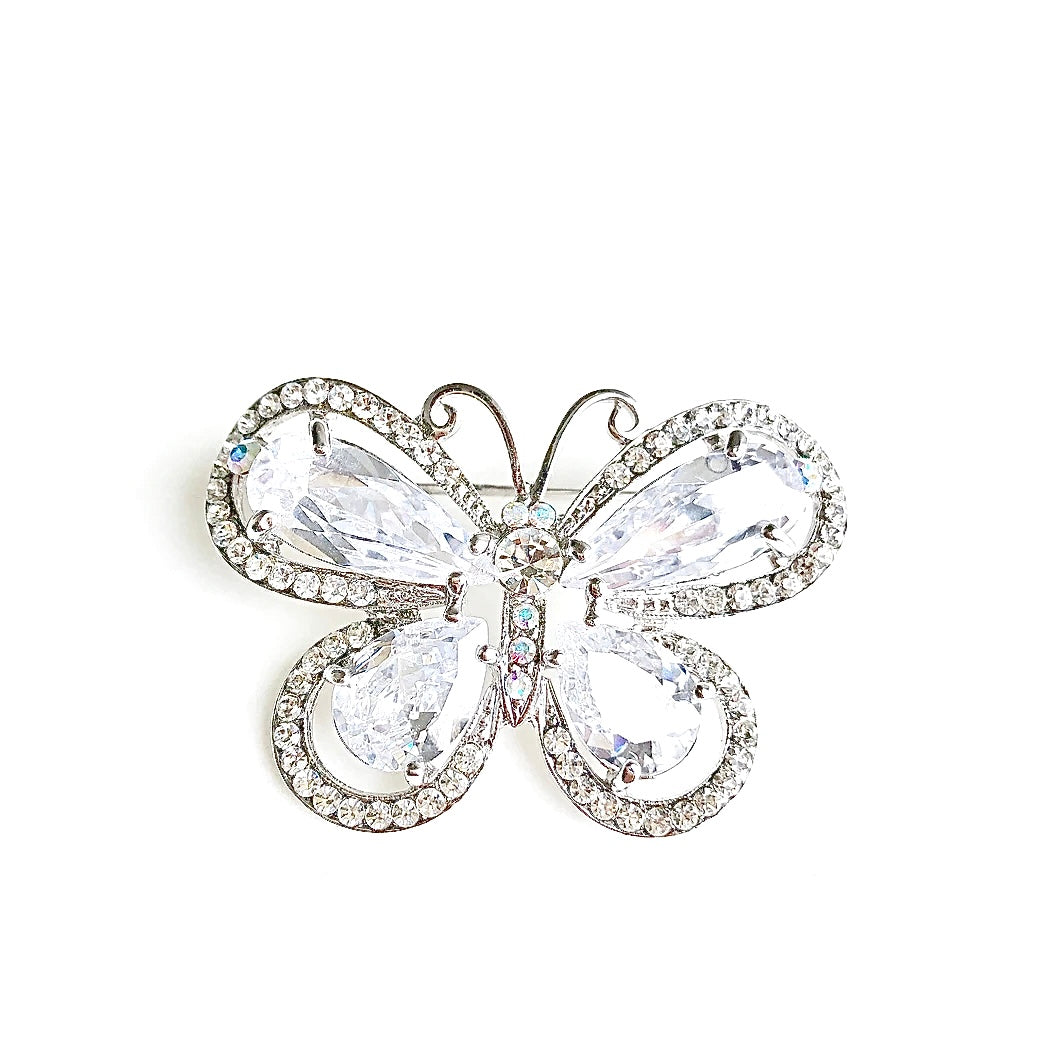 BUTTERFLY Crystal Pin Broach