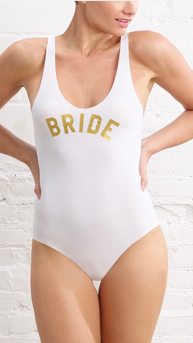 BRIDE GOALS Bodysuit Tank
