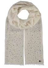 GLAM Lightweight Wool Cashmere Crystal Wrap