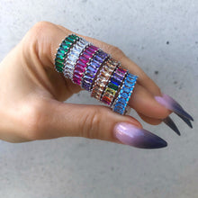 SOLID Coloured Stackable Rings