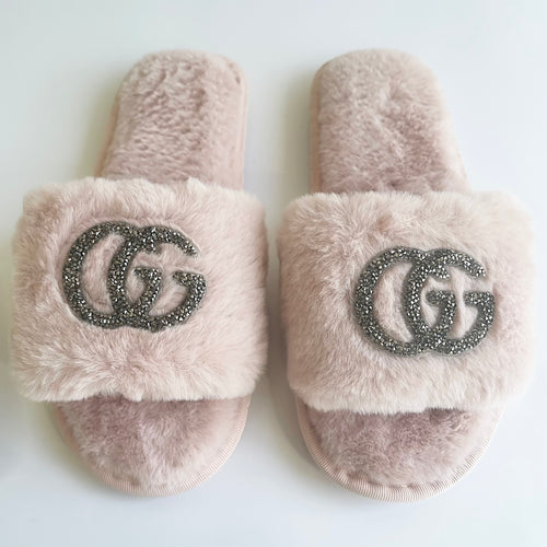 GG Plush Slides