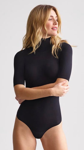 Short Sleeve Turtleneck Bodysuit