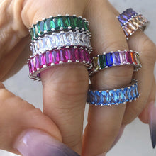 Coloured Stackable Rings