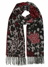 ANIMAL COLLAGE Cashmink Oversized Wrap