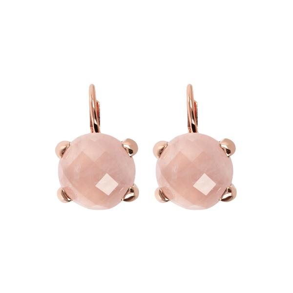 ALANI Rose Quartz Pink Italy Earrings