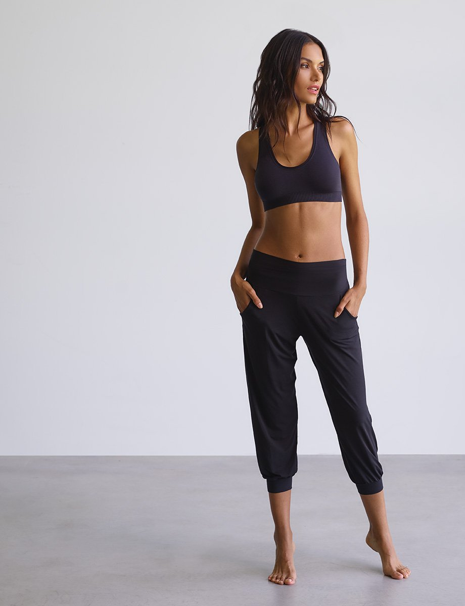 Butter High Rise Capri Jogger