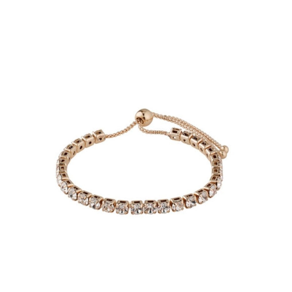 LUCIA Crystal Pull Bracelet in 3 Colour Variants