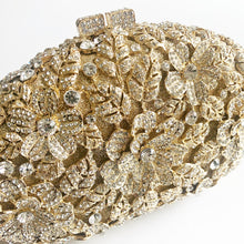 BELLE Crystal Gold Clutch