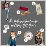 The Vintage/Handmade Holiday Gift Guide