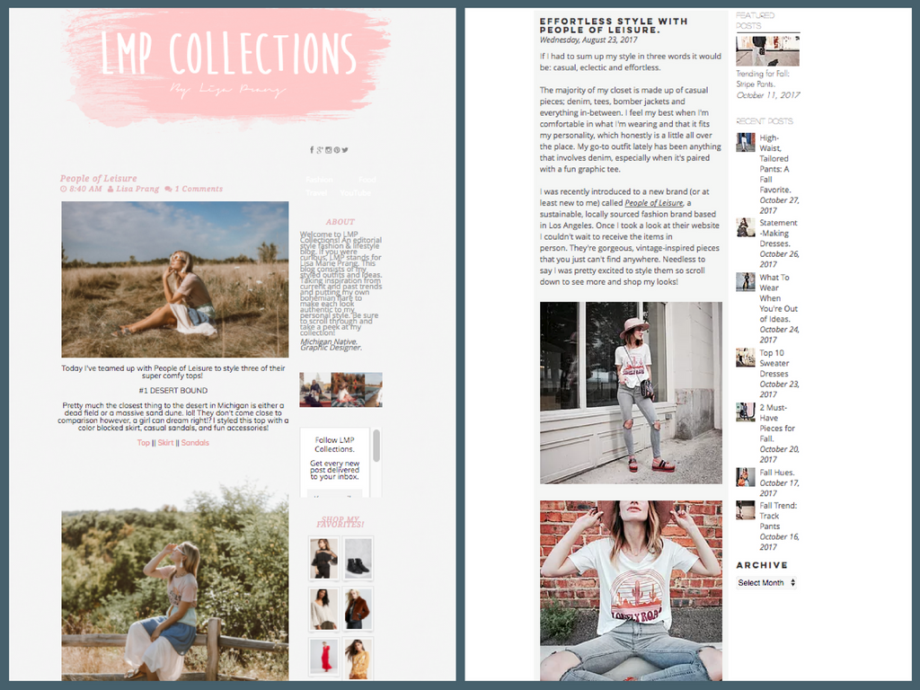 featured in - LMP Collections + The Daily Glance
